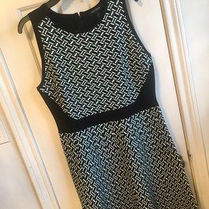 Like new print dress